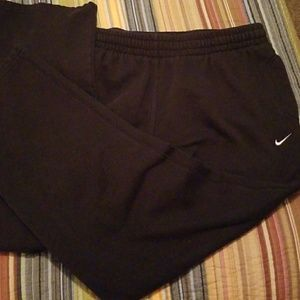 Nike black sweat pants